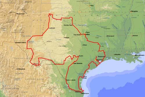 texaner und mexikaner